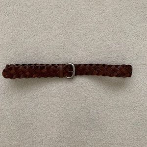Accessories - Brown woven belt